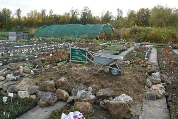 Newsletter ii 2014 aufbau eines alpinums buchvorstellung blackbox gardening sarastro stauden - Steingarten anlegen aufbau ...